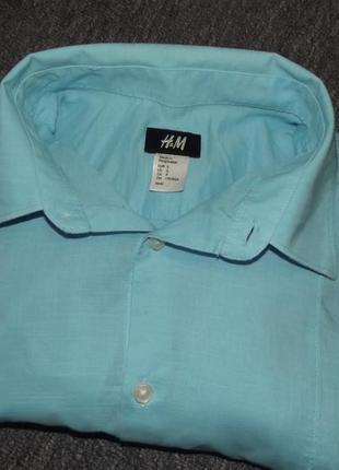Рубашка длинный рукав от h&m