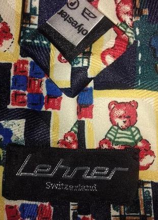 Галстук с медвежатами lehner3 фото