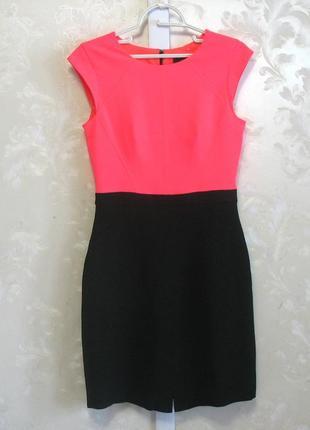 Контрастное платье  coast