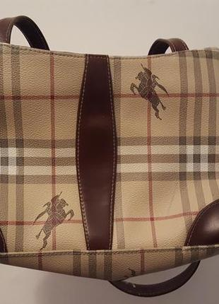 Шикарная сумка burberry