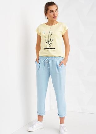 Укороченные брюки украинского бренда