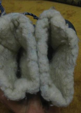 Сапоги детские на овчине4