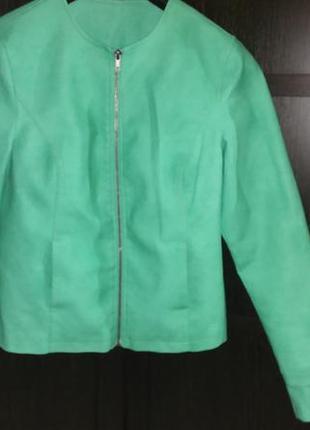 Куртка zeeman демисезон искусственная кожа s-m 38
