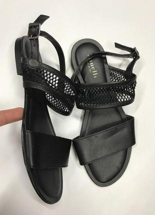 Кожаные сандали minelli 37р