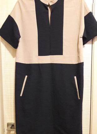 Мегастильное платье свободного кроя1