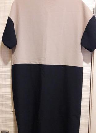 Мегастильное платье свободного кроя2