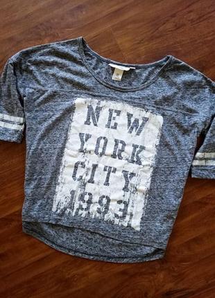 Модная футболка, кофточка размер с-м от h&m