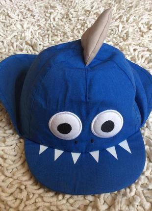 Кепка-легионерка с акулой с защитой шеи от уф-лучей nutmeg