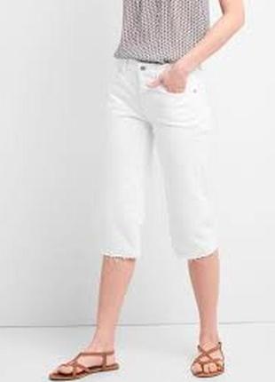 Gap high rise super crop jeans,  30 размер, наш 46-48,