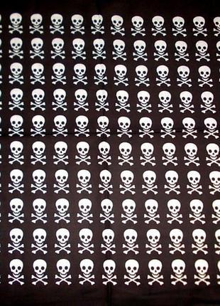 Платок-бандана для костюма пирата и на каждый день