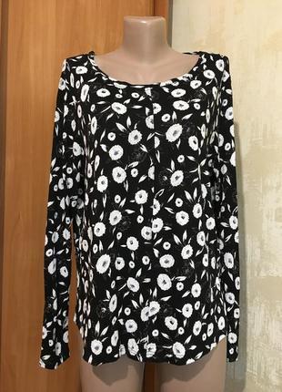 Роскошная трикотажная блуза ,туника с кружевом,вискоза!