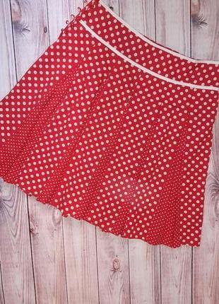 Фирменная юбка в горошек от papaya