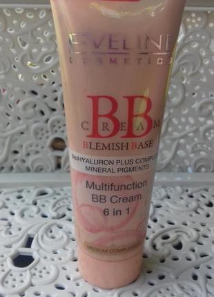 Тональний крем/вв cream eveline cosmetics
