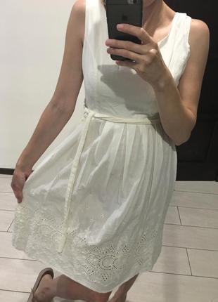 Легке плаття сарафан з кружевом