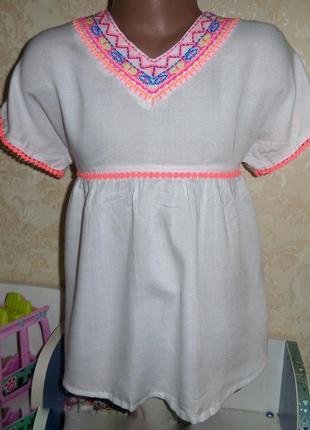Блузка f&f kids   6-7 лет