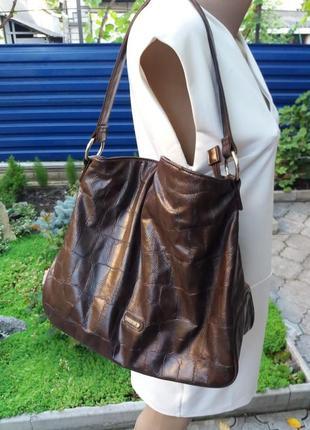 Стильная  сумка мешок от  caprisa