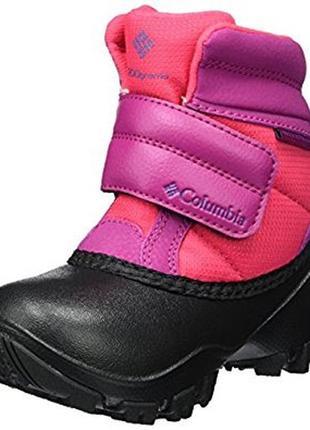 Columbia новые зимние ботинки для девочки 13 us (31 наш) и 11 us (28 наш)