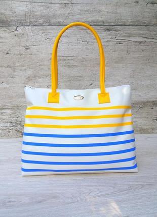 Christian dior сумка шоппер / пляжная /100% оригинал / большая и вместительная