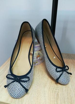 Туфли текстиль