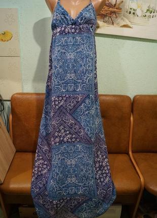Длинное платье р.л,бренд mango
