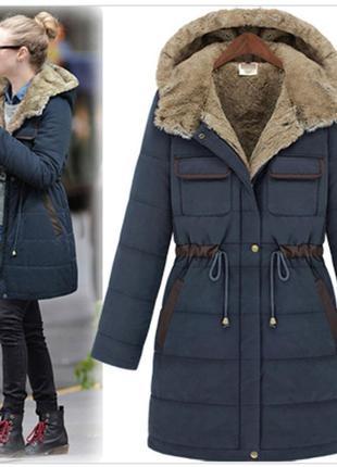 Купить зимнее пальто парка