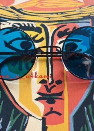 Имиджевые круглые очки, новые