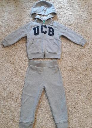 Спортивный костюм фирменный ucb