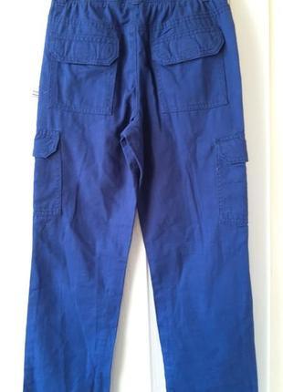 Коттоновые штаны на мальчика 7-8лет, фирма lupily германия2
