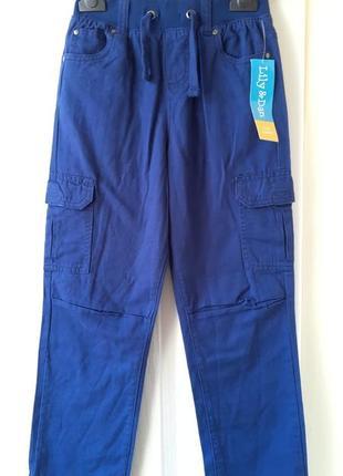 Коттоновые штаны на мальчика 7-8лет, фирма lupily германия