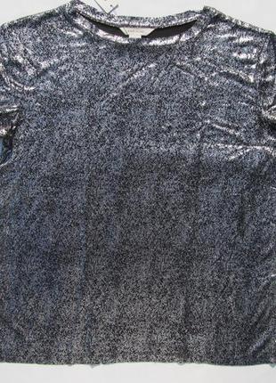 Нарядная футболка на  на 11 - 12 лет рост 152 см.  river island англия