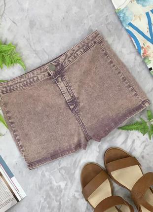 Стильные джинсовые шорты с эффектом вываривания   pn1828035  topshop