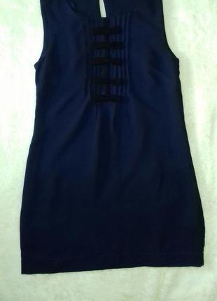 Платье короткое синее классное