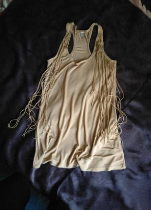 Короткое платье-майка, сарафан stradivarius