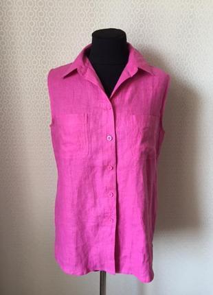 f952820cc5e Льняные женские рубашки 2019 - купить недорого вещи в интернет ...