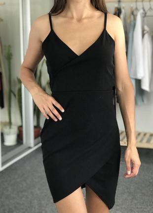 Черное платье missguided 36-38