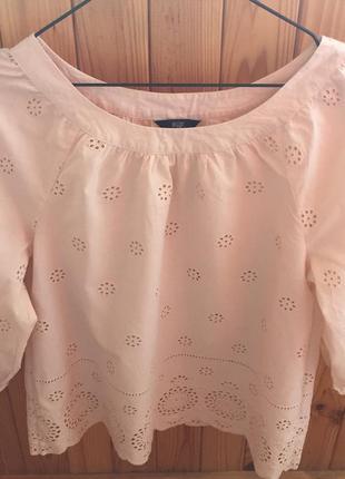 Хлопковая блузка/рубашка