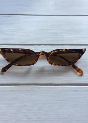 Очки леопардовые