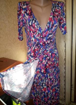 Трикотажное  платье из вискозы 12