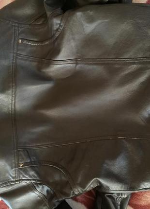 Куртка манго кожа3
