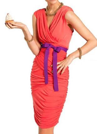 Дизайнерское платье из джерси