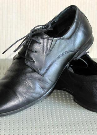 Кожаные туфли, стелька 27 см