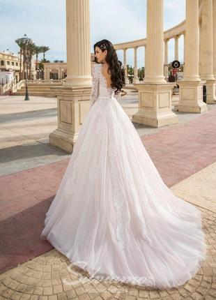Шикарное свадебное платье бренда silviamo из коллекции amazing 2018 года!