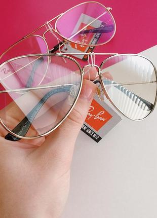 Новые имиджевые очки авиаторы