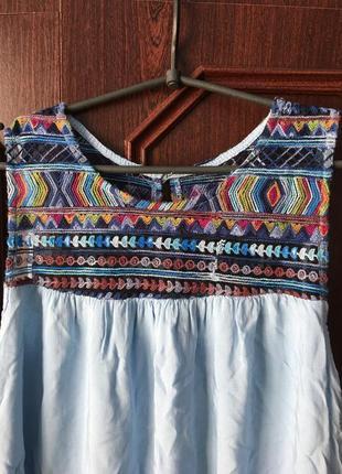 Легкое летнее платье италия новое!!!! срочно!!!1 фото