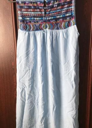 Легкое летнее платье италия новое!!!! срочно!!!3 фото