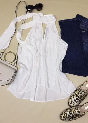 Красивая блуза без рукавов zara