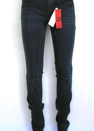 5a5aeb65081 S-s.oliver- темно-синие джинсы скинни на высокую девушку