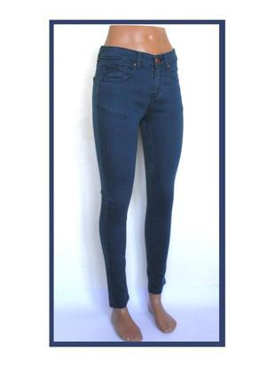 S-m&co- британия, темно-синие джинсы- скинни, доставка бесплатно.