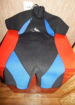 Костюм для дайвинга,водолазный,гидрокостюм,для плаванья. детский