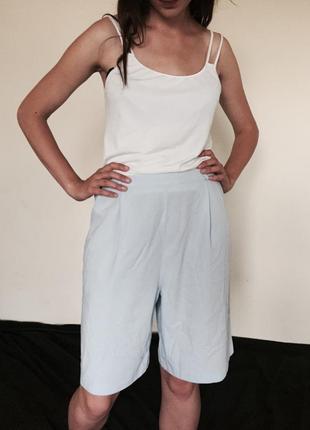 Голубые летние шорты berkertex